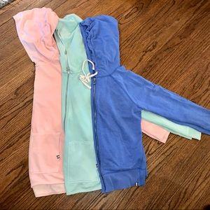 Set of 3 Cozy Gap Jackets!